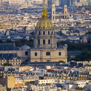 Vue de la Tour Eiffel
